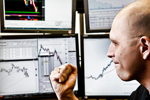 Contrarian options trading