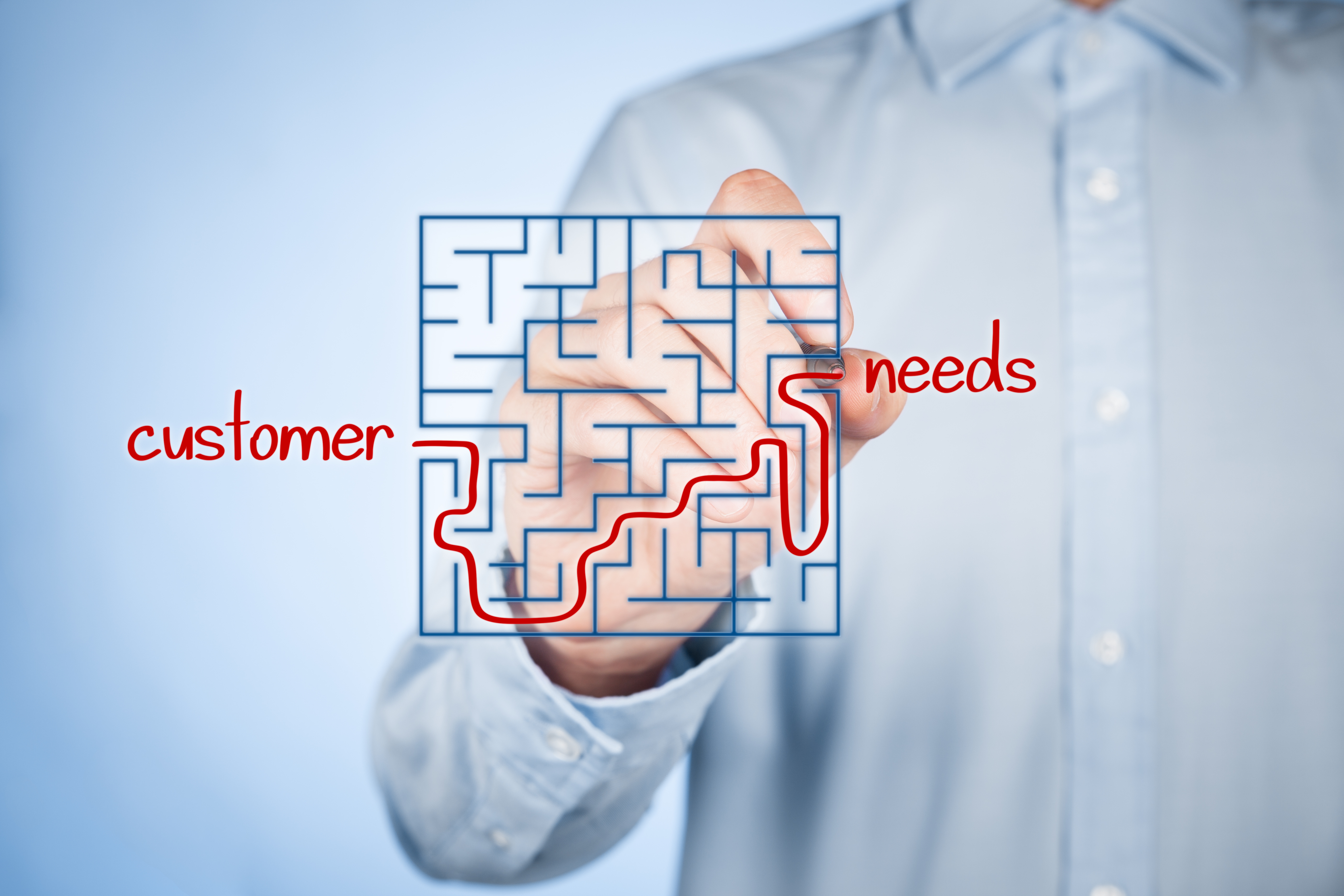 customer needs We need to ensure that we always deliver on our promise to the customer.